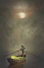 Mekong sous la brume
