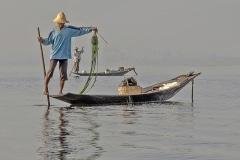 Pêcheurs Lac Inle