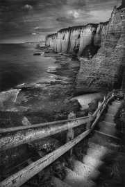 02_l'escalier d'Etretat