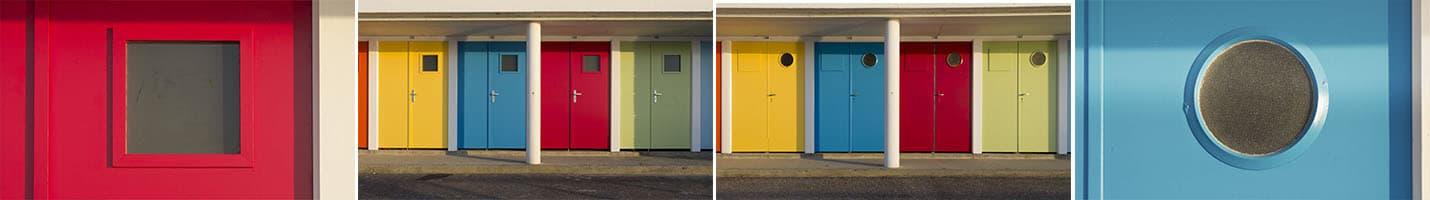 3-Sophie Michel_Cabines multicolores