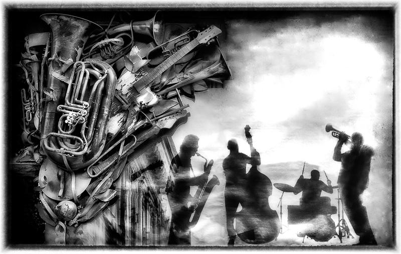 La Boite à Jazz, meilleure photo monochrome N1