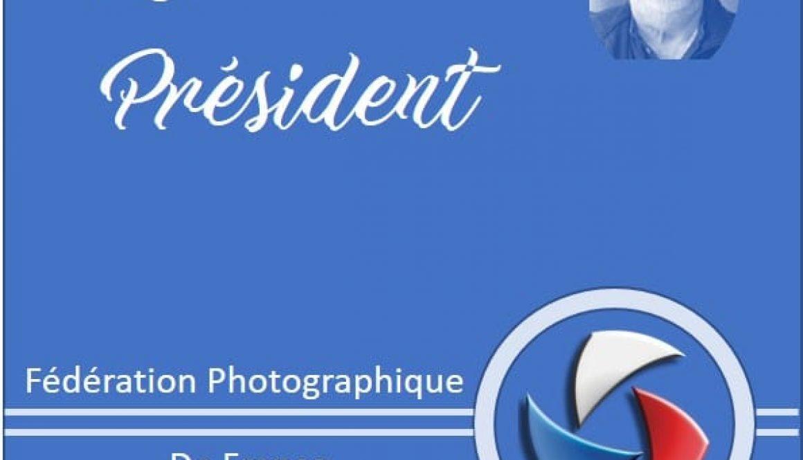 mot du president