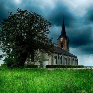Sylvie Blottiaux. Eglise de Champaubert
