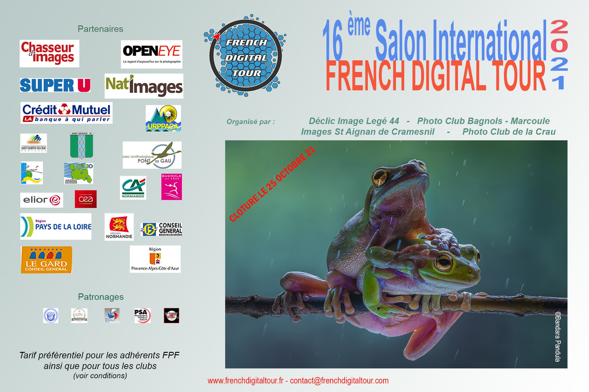 Flyer French Digital Tour 2021
